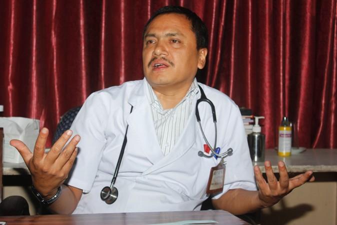 डा. सुधांशु केसी, बरिष्ठ कलेजो रोग विशेषज्ञ