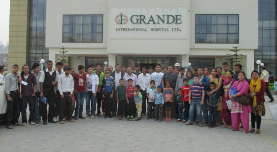 After Camp Group pic with Haemophilic Camp