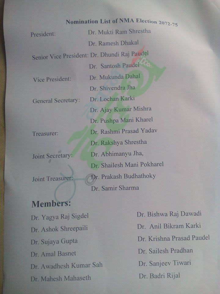 name list dr copy