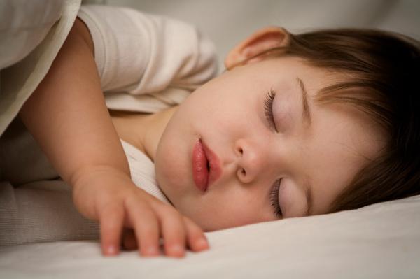 Sleeping-toddler